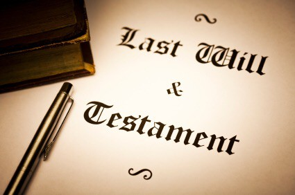 Notarize a will in San Diego, California. Notary Public witness a will in California